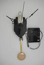mouvement horloge quartz à balancier + aiguilles ciselées + sonnerie + balancier