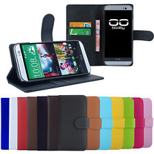 CAVOR Handy Tasche für HTC One Serie Flip Case Schutz Hülle Cover