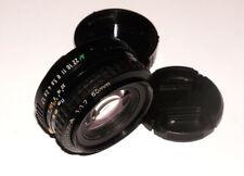 SMC Pentax-A 50 mm 1.7 Pentax A mount SN1247840 EXCELLENT!