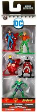 Superman, Aquaman, Supergirl, Batman & Lex Luthor 1.5-Inch Diecast Figure 5-Pack