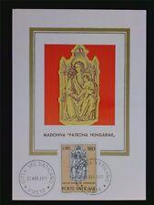 VATICAN MK 1971 MADONNA & JESUS MAXIMUMKARTE CARTE MAXIMUM CARD MC CM c6308