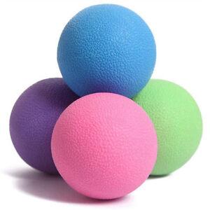Lacrosse Massage Ball Trigger Point Massage Myofascial Muscle Stress Relief Ball