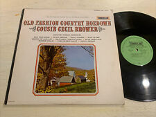 Cousin Cecil Brewer Old Fashion Country Hoedown LP Cumberland Stereo VG+!!!