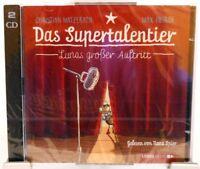Das Supertalentier - Lunas großer Auftritt + Tolles Hörbuch für Kinder auf 2 CD