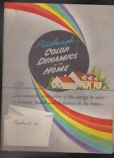 Pittsburgh Color Dynamics for the Home Plate Glass Co 1945