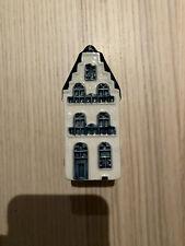 New KLM Delfts Blue Houses Number 18 sealed with Bols Jenever