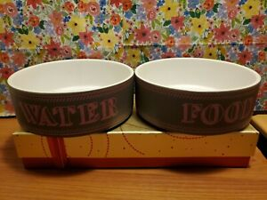 Pet Rageous Designs 2 Bowl(food & water) ceramic HandCrafted Stoneware
