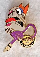 HARD ROCK CAFE FOXWOODS SCREAMING MIMI MICROPHONE PIN # 78096