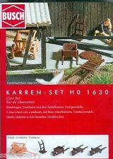 Busch 1630 karren-set, H0