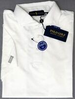 Polo Golf Ralph Lauren White Short Sleeve Shirt Mens Pro Fit Wicking NEW $98