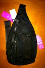 NWT Vera Bradley ReActive Mini Sling Backpack Belt Bag in Black Recycled Bottles