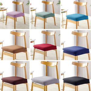 Chair Seat Cover Protector Stretch Chair Cover Seat Case Slipcover Home Party