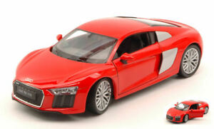 Model Car Scale 1:24 Welly Audi R8 V10 diecast vehicles collection Coche