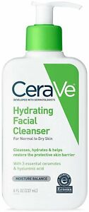 CeraVe Hydrating Facial Cleanser-Normal to Dry Skin - 8 Oz