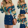 ❤️ Women's Sexy Puff Sleeve Off Shoulder Blouse T Shirt Casual Long Sleeve Tops
