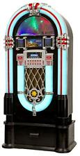 Retro Xxl Jukebox Stereo HiFi System Mp3 Cd Player Usb Sd Fm Radio Bluetooth