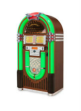 Crosley iJuke Bluetooth Jukebox Retro Deluxe Full Size Color Changing cd am/fm