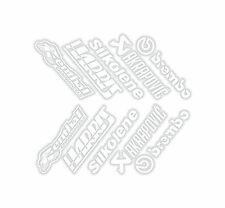 x10 belly pan Stickers Renthal Silkolene Akraprovic Brembo White 08