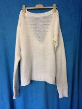 Women's Sweater Size 8 Asos Open Back V