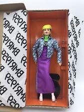 Barbie BMR 1959 2020 Doll, NEW, NRFB, Asian, Purple Motocross Dress, Neon Beret