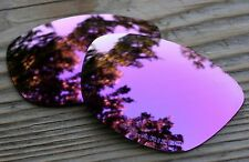 Polarized Rose Pink Gold Mirrored Sunglass Lenses for Oakley Jupiter Green Tint