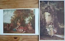 2 Ansichtskarten Kunstkarten von Lapina  wohl vor 1945   H61