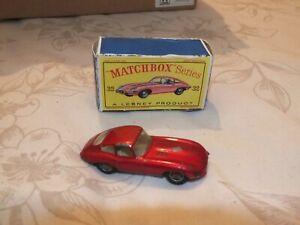 matchbox e-type jaguar with original box
