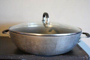 Simply Calphalon Nonstick 12-In. Everyday Pan With Cover Lid 1612 30cm