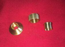 Halftrack Pedestal Light Headlight Brass Shielded Cable End Kit