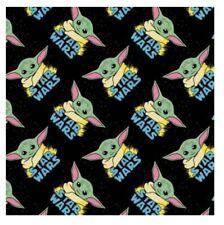 Star Wars Baby Yoda Mandalorian The Child CEA Cotton Fabric 18x21 FQ - IN STOCK