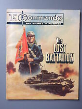 R&L Commando Comic Number 1361, The Lost Battalion, Boys British Comic