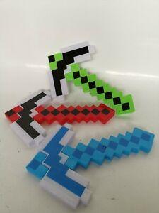 Roblox Minecraft Sword Pickaxe Axe Gun Hand gun lights and sound function