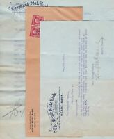 U.S. The Meade State Bank,Meade,Kans. Logo1906 Invoices & Stamps Cover Ref 43190