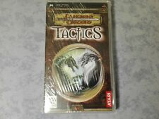 DUNGEONS & E AND DRAGONS TACTICS SONY PSP PAL ITALIANO COMPLETO NUOVO SIGILLATO