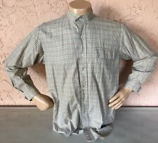 Polo Ralph Lauren Equestrian Apparel Button Shirt~Mandarin Collar~Men's Sz M