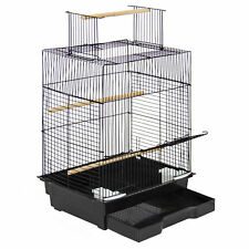 "Pet Supplies 24"" Bird Cage W/ Open Play Top- Ideal For Parakeets, Small Birds"