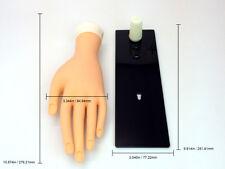 Beauticom® Soft Flexible Reusable Practice Nail Art Training Mannequin Hand