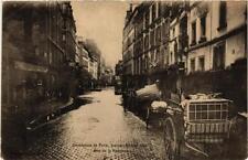 CPA Inondation de Paris, 1910. Rue de la Roquette (562156)