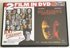 100 RAGAZZE + HELLRAISER 5: INFERNO 2 FILM IN 1 DVD SPED GRATIS SU + ACQUISTI