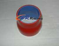 """2.5"""" to 3"""" inch Straight Silicone Hose Reducer 63-76mm Coulper pipe L=76mm RED"""