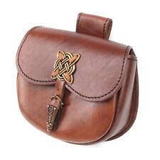 Celtic Leather Belt Bag: Purse Living History Cosplay Larp