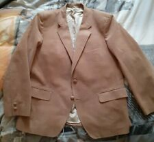 Homme eventi italien daim tan veste blazer £ 627.99 bnwt en xs à 5XL