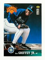 Ken Griffey Jr #334 (1997 Collector's Choice) Hot List, Seattle Mariners, HOF