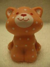 "VINTAGE 1982 Strawberry Shortcake CUSTARD CAT PVC Figure 2"" tall Sitting  52:i11"