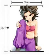 "Hot Japan Anime Dragon Ball Super Caulifla Home Decor Poster Wall Scroll 8""x12"""