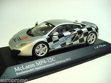"1:43 MINICHAMPS 2011 McLaren MP4-12C ""2012 Toy Fair Nuernberg"" RARE PROMO MODEL"