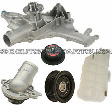 MERCEDES W163 ML320 430 500 EXPANSION TANK CAP WATER PUMP PULLEY THERMOSTAT KIT