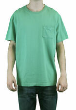 STEVEN ALAN Men's Grass Green Short Sleeve Pocket T-Shirt MCS25CT NWT $58