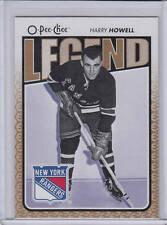 09/10 OPC New York Rangers Harry Howell Legend card #574