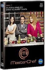 MasterChef  (DVD 4 disc) TV Show - Gessler, Moran, Starmach POLSKI POLISH